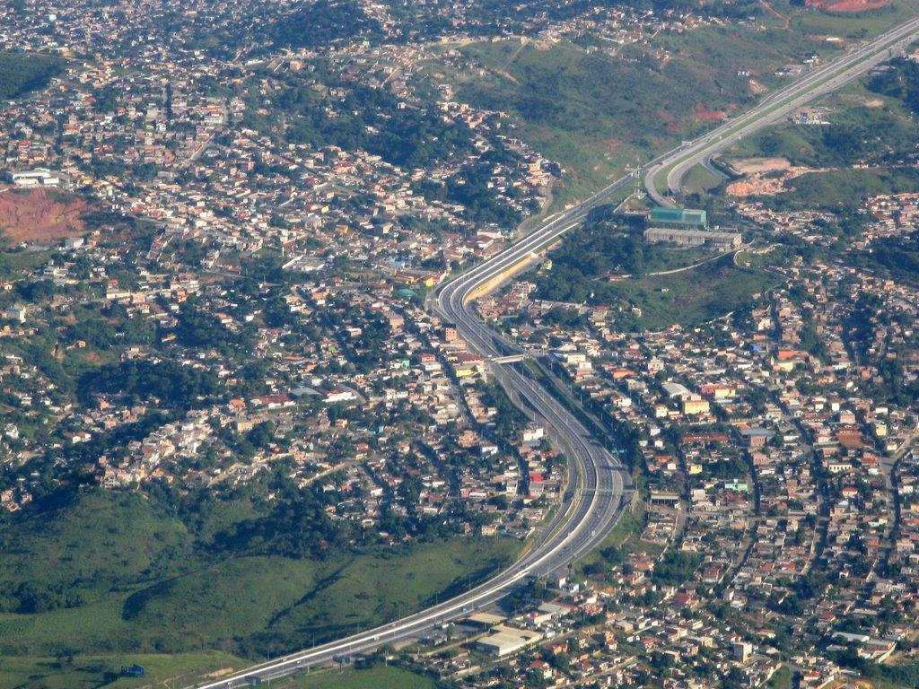 Imagem panorâmica de Vespasiano