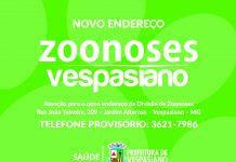 Zoonoses - Novo endereço